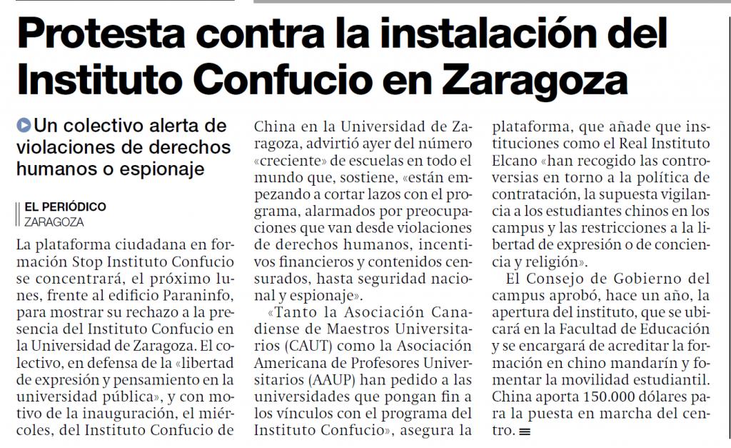 Instituto Confucio Zaragoza